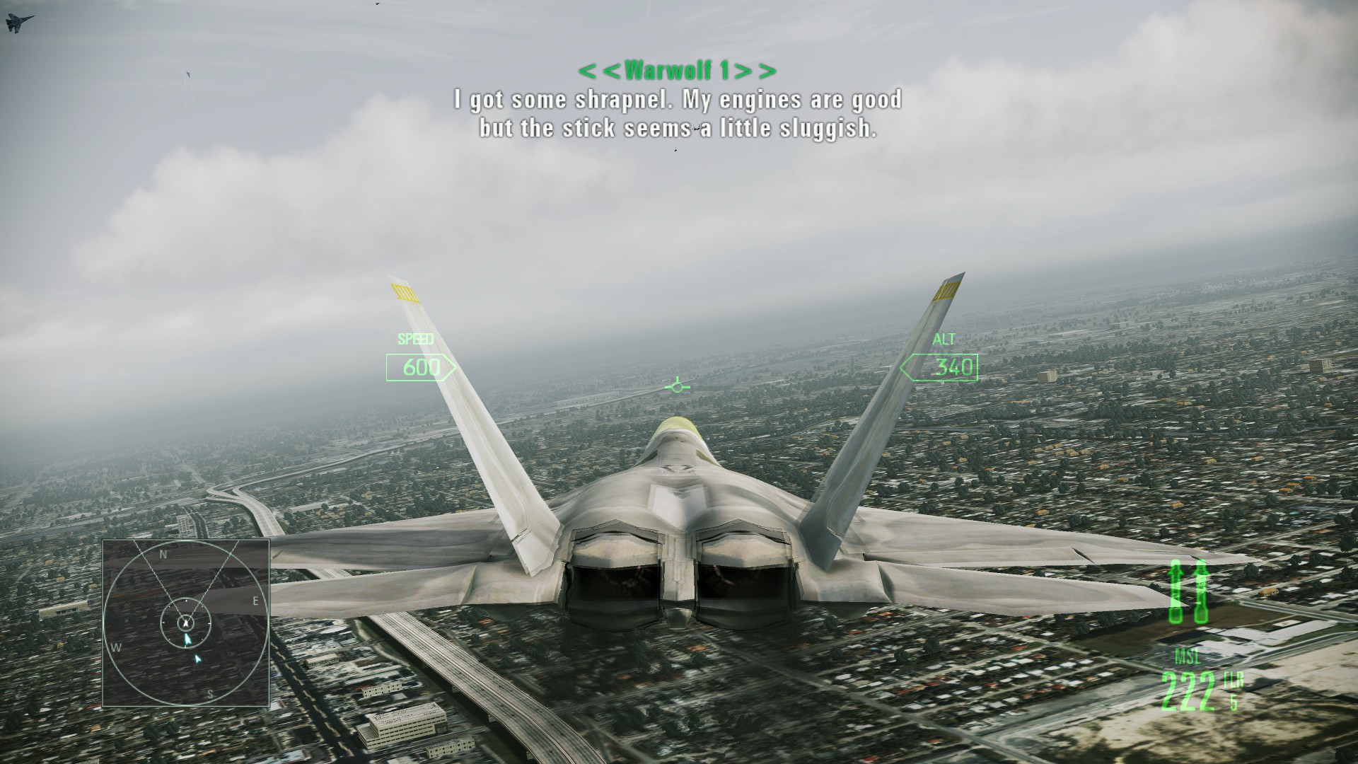 Ace Combat The Infinite Zenith Page 2