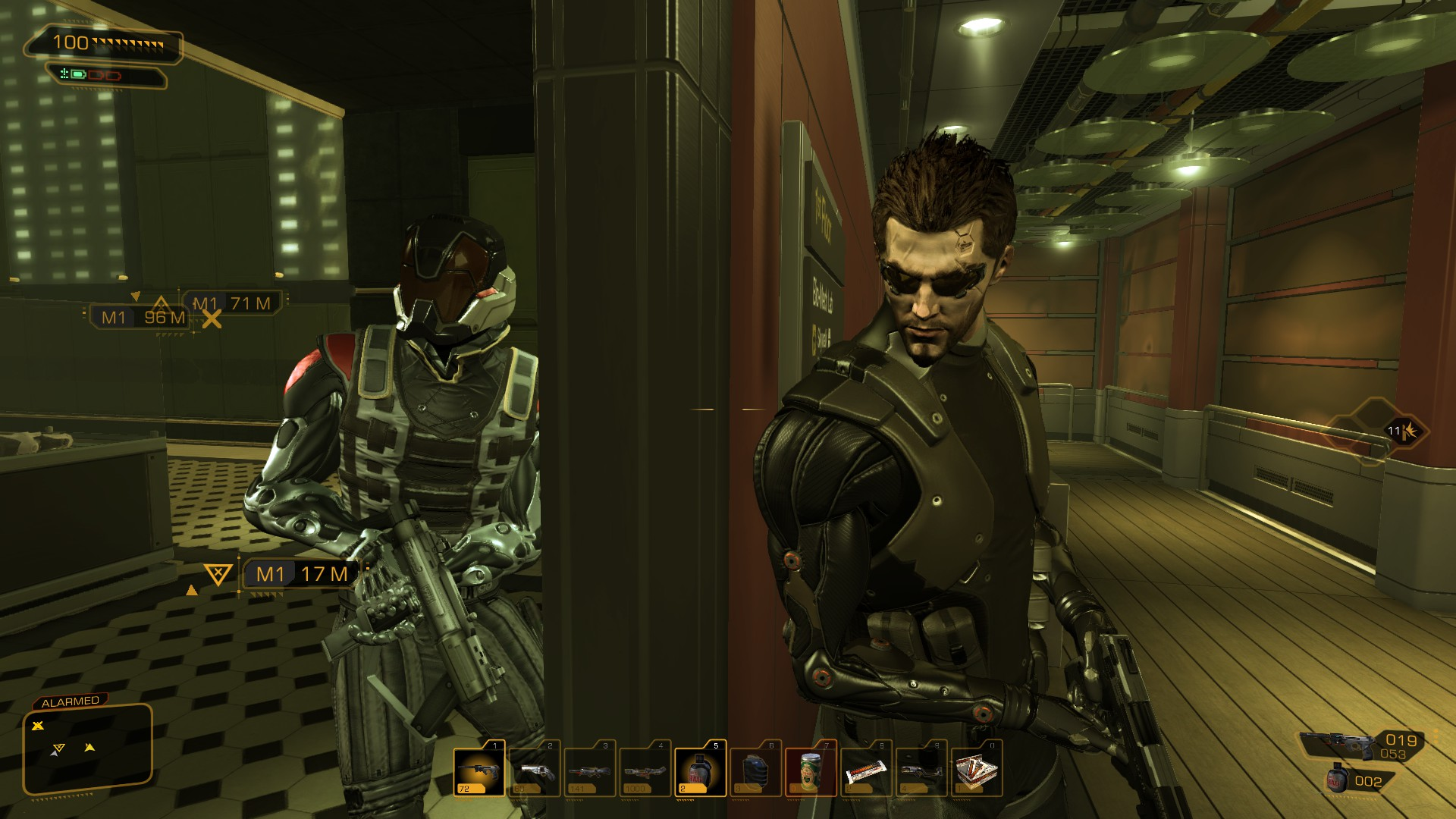 deus ex human revolution not your personal dating service