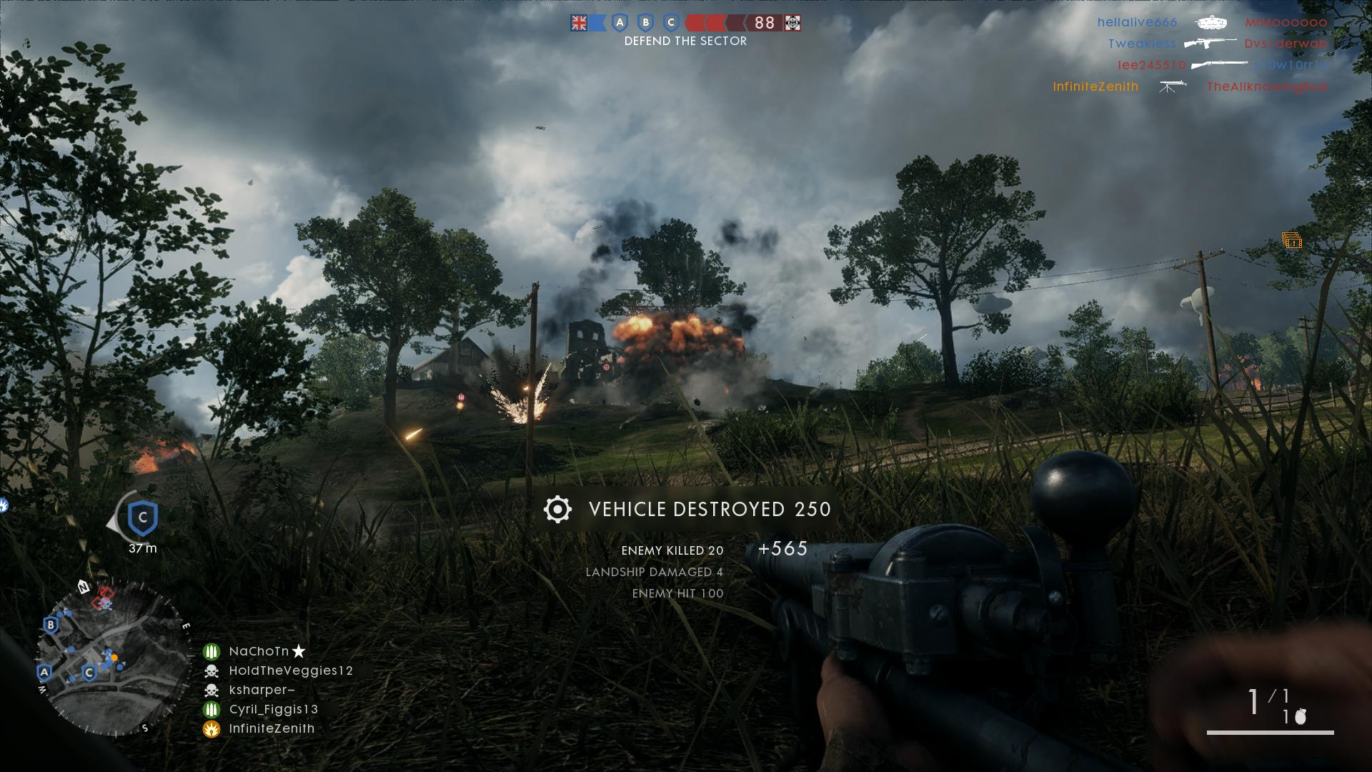 Battlefield 1 First Impressions Of The Multiplayer The Infinite