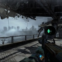 Thoughts of Metro: Exodus while crossing the Flood-Stricken Bridge in Metro: Last Light