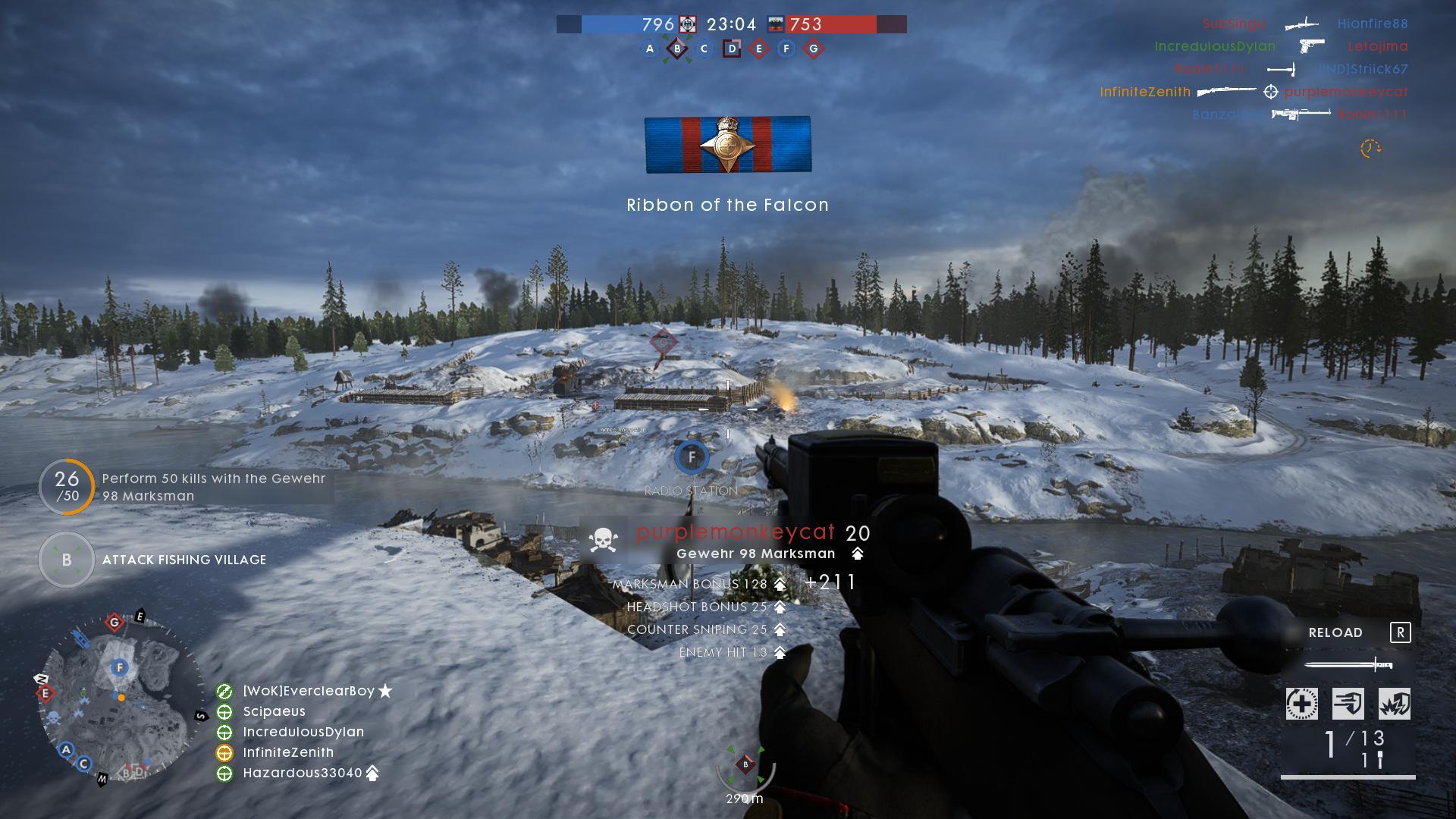 One Year of Service in Battlefield 1 | The Infinite Zenith