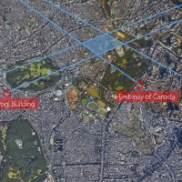 A Photogrammetry Exercise in Kimi no Na wa (Your Name): Determining the location of Taki's Apartment and a fly-through from Tokyo to Hida