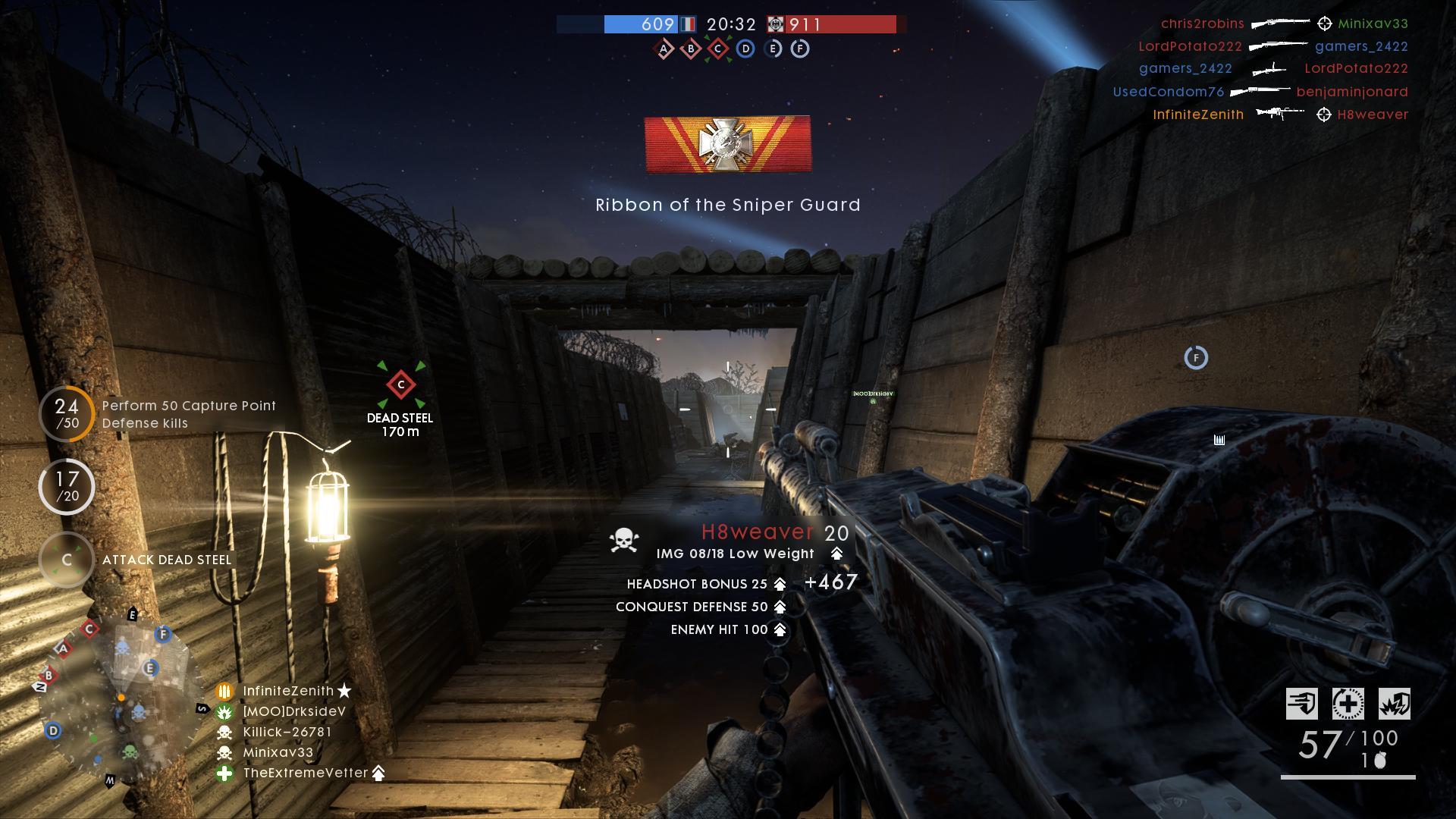 Battlefield 1: Killtrocities, the Burton LMR and The Road To