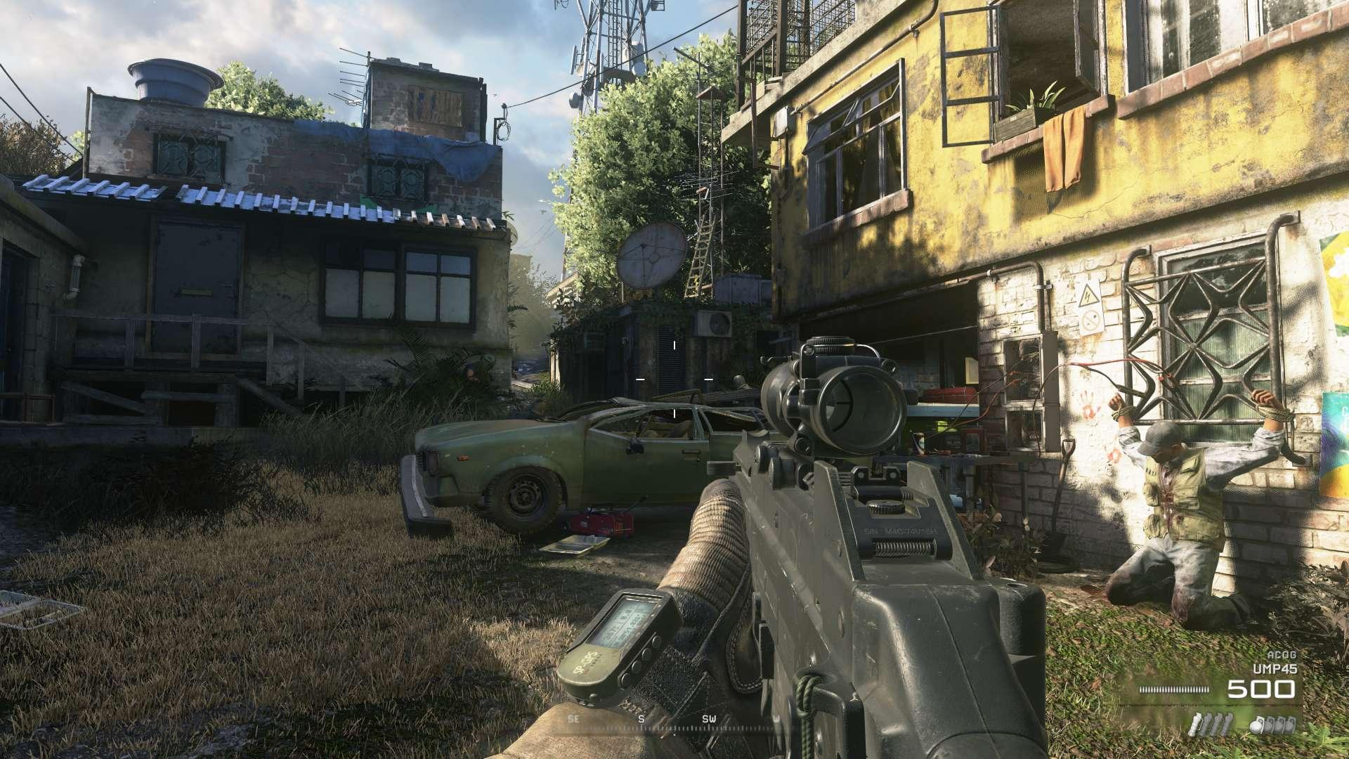 Call Of Duty Modern Warfare 2 Remastered Act Ii Review And Reflection The Infinite Zenith Backyard bbq modern warfare